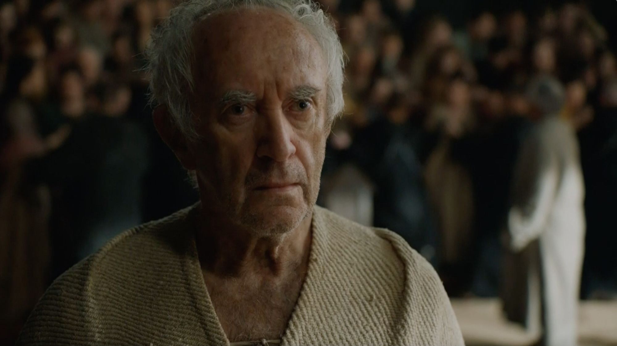 The High Sparrow considering his situation...